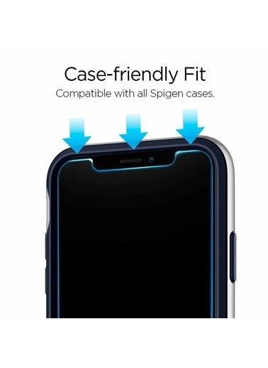Spigen iPhone 11 Pro, Glass tR. Slim Cam Ekran Koruyucu (2 Paket) Renkli